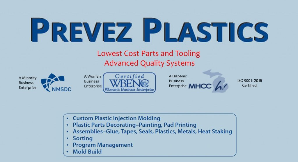 Prevez Plastics | Specializing in manual & automated assemblies